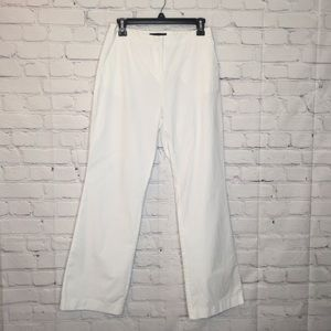 Moda International White bootcut pants